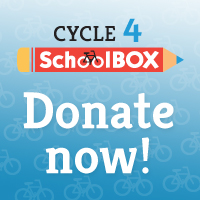 Donate to the Cycle 4 SchoolBOX Campaign